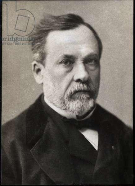Portrait of Louis Pasteur (1822-1895), French chemist and microbiologist.