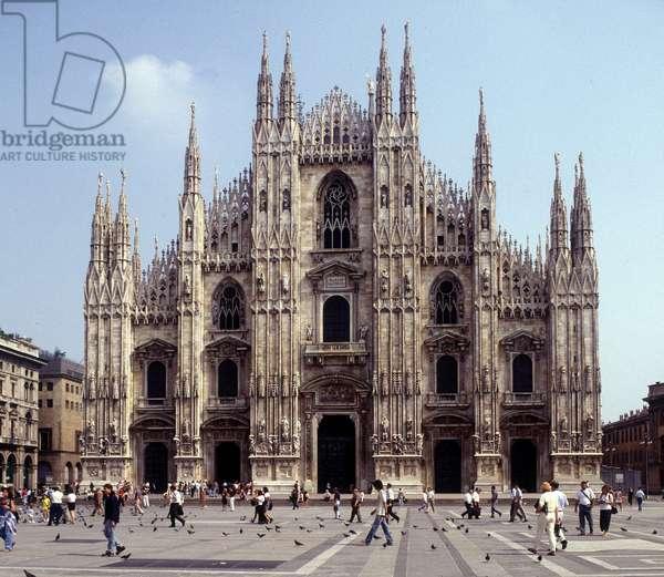 Piazza del Duomo, Cathedral of Milan.