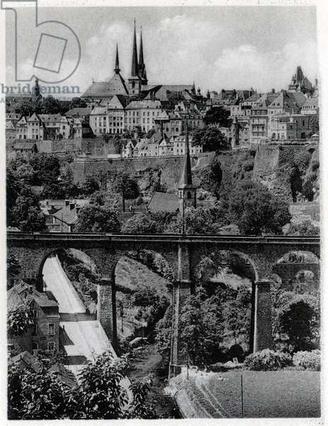 The Grand Duche of Luxembourg. Photography years 1930.