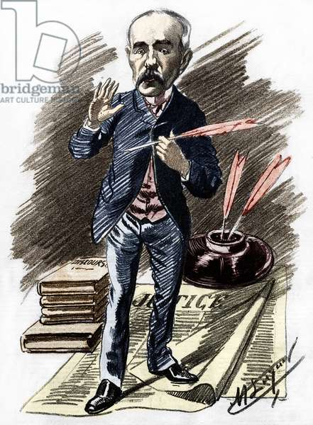 Georges Clemenceau (1841-1929), French politician.