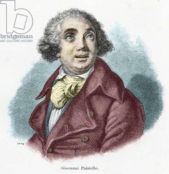 Giovanni Paisiello (or Paesiello) (1740-1816), Italian composer.