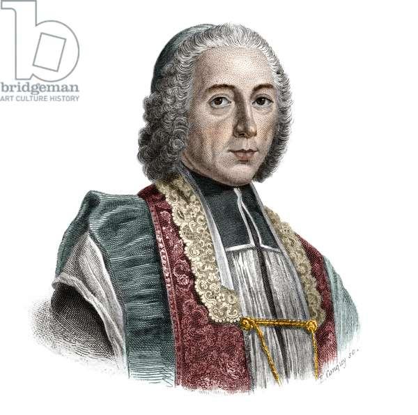 Portrait of Jacques Denis Cochin (1726-1783) founder of the Hopital Saint-Jacques.