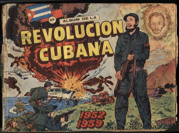 Album of the Cuban Revolution. 1952-1959.Edition of 1965.on cover Fidel Castro.