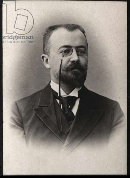 Portrait of Marcel Prevost (1862-1941), French author and dramatist.