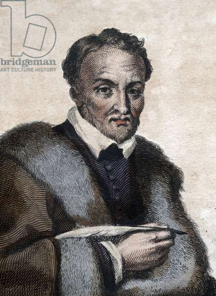 Portrait of Jacques Amyot (1513-1593), French bishop, writer and translator.