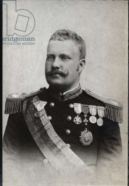 Portrait of Carlos I of Portugal (1863-1908), King of Portugal.