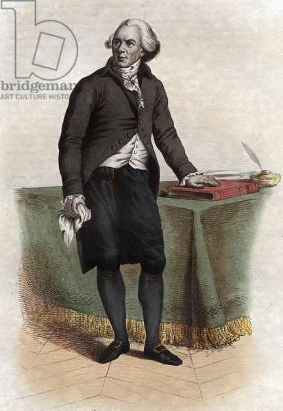 Portrait of Jacques Delille (Abbe Delille) (1738-1813), French poet and translator.