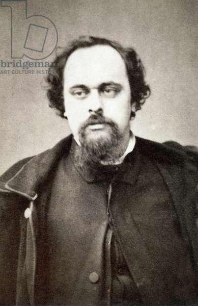 Portrait of Dante Gabriel Rossetti (1828-1882) - Circa 1860