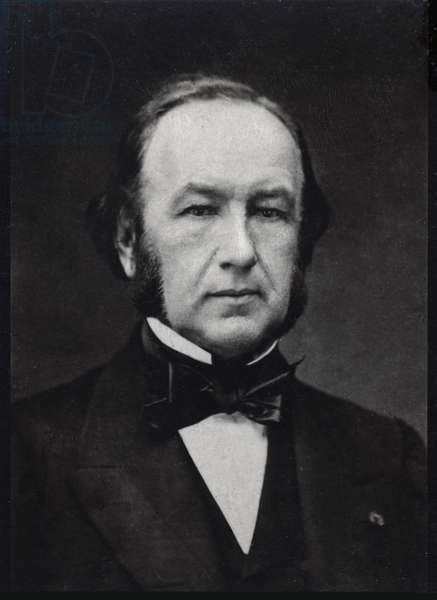 Portrait of Claude Bernard (1813-1878), French physiologist.