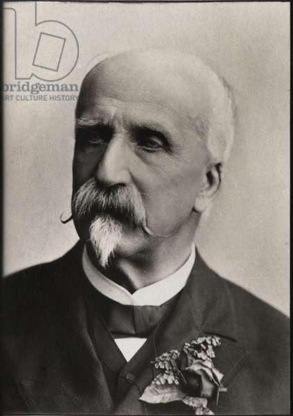 Portrait of Prince Henri d'Orleans, Duke of Aumale (1822-1897), French military and politician.