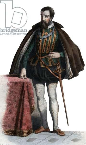 Portrait of Francois I de Lorraine (1519-1563), Duke of Guise, Duke of Aumale, French soldier and politician.