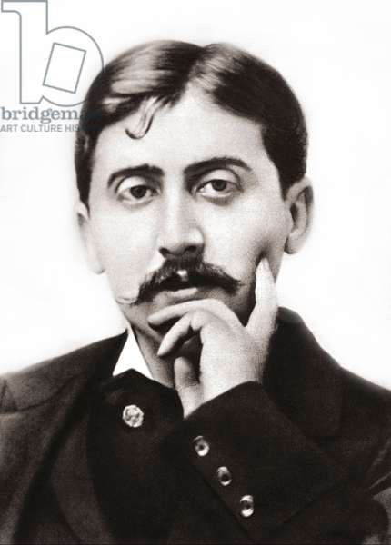Portrait of Marcel Proust (1871-1922), French writer around 1900