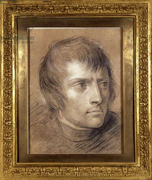 Napoleon Bonaparte (1769-1821), First Consul, in 1803 (drawing)