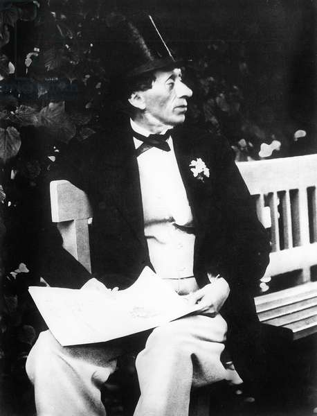 Portrait of Hans Christian Andersen (1805-1875) Danish author