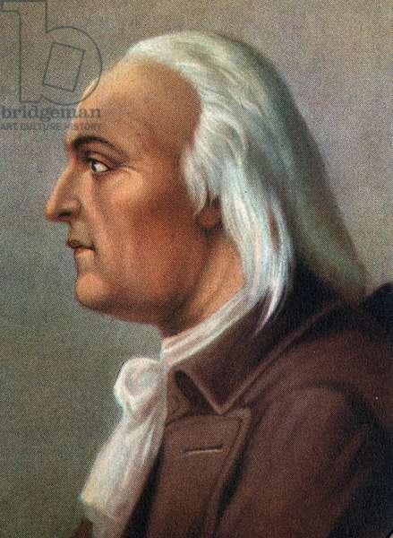 Portrait of Alessandro (Alexandre) Volta (1745-1827) Italian physicist.