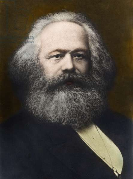 Portrait of Karl Marx (1818-1883) 1878
