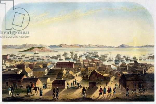 View of San Francisco. sd. ca. 1860