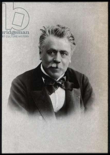 Portrait of Henri Francois Becque (1837-1899), French dramatist.
