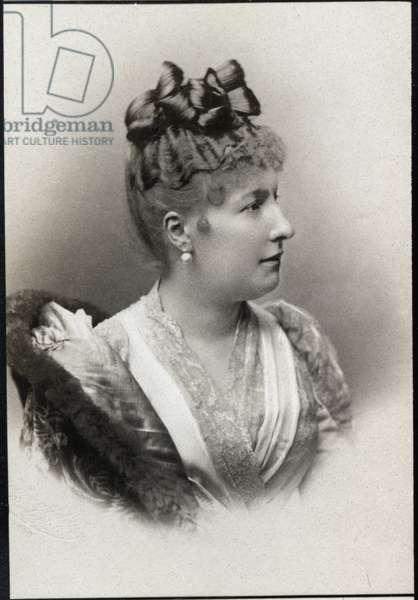 Portrait of Princess Louise Marie of Belgium (1858-1924).