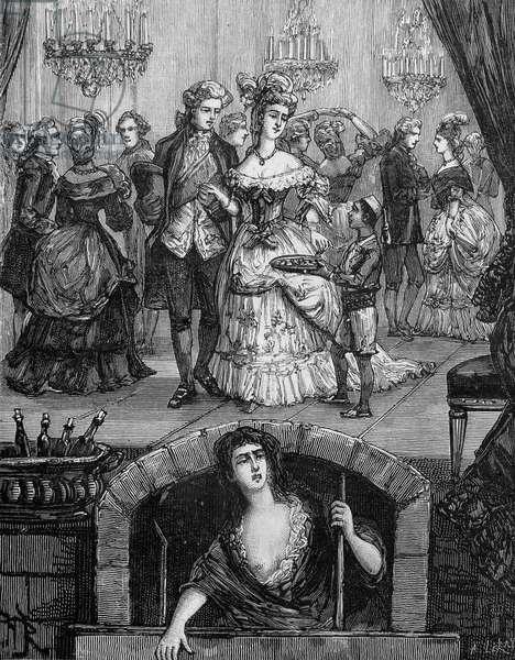 "Title page of """" Le Marquis de Sade, ses aventures, ses œuvres"""", Fayard, 1885."