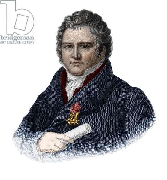 "Portrait of baron Guillaume Louis Ternaux or ""Ternaux l'Aine"" (1763-1833) french industrialist."