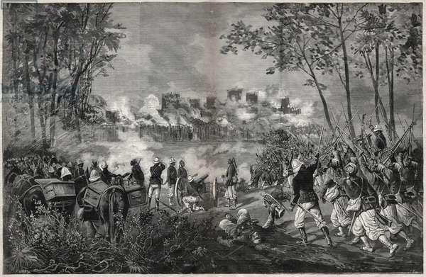 The Taking of Segou-Sikoro, 1890 (engraving)