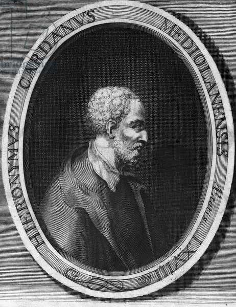 Jerome Cardan in Italian Gerolamo Cardano (Jerome Cardane) (1501-1576) Italian doctor, mathematician, philosopher and astrologer