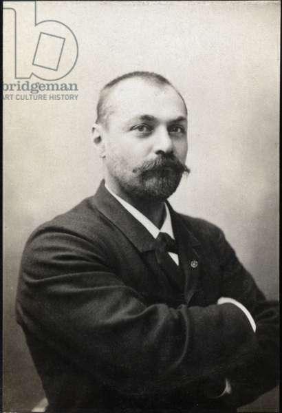 Portrait of Gabriel Bonvalot (1853-1933), French explorer.