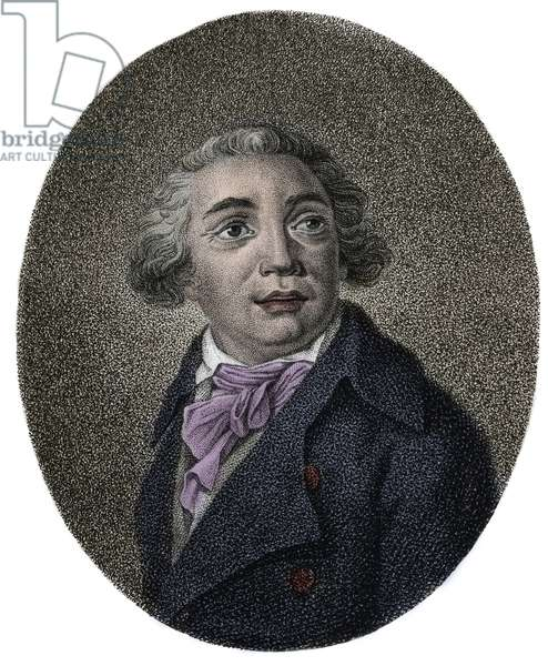 Portrait of Giovanni Paisiello (1740 - 1816) Italian composer