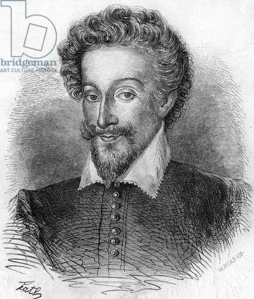 "Portrait of Henry IV (1553-1610), King of France. In """" Histoire Populaire de la France"""", sd. circa 1885. Engraving."