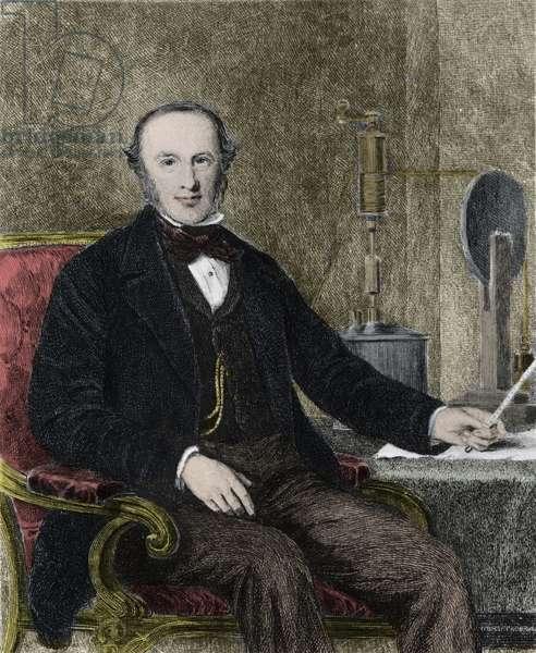 Portrait of James Prescott Joule (1818-1889) English Physicist