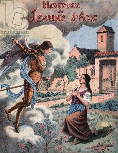 The calling of Joan of Arc by Archangel Michael.