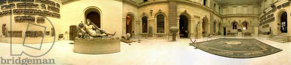 Musee du Louvre. Hall of etruscan antiques.