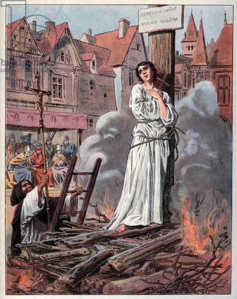 Joan of Arc at the Stake, 1430.