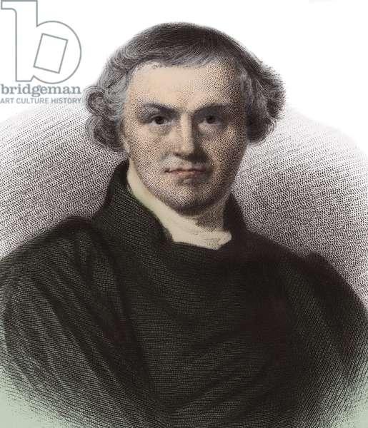 Portrait of William Whewell (1794-1866), British philosopher and historian.