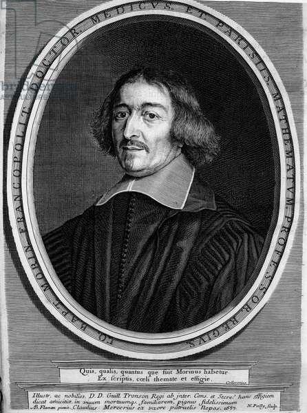 Portrait of Jean Baptiste Morin de Villefranche (1583 1656) (French Astrology)