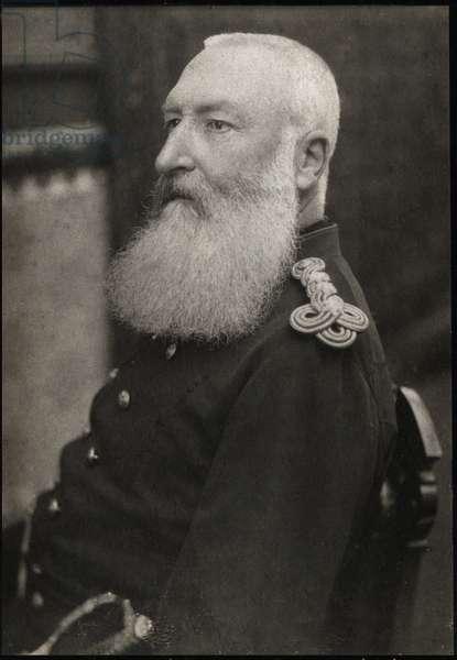 Portrait of Leopold II (1835-1909), King of Belgium.