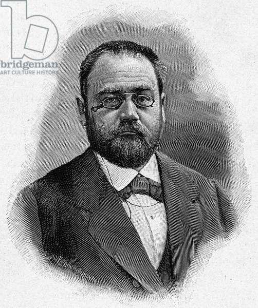 Portrait of Emile Zola,