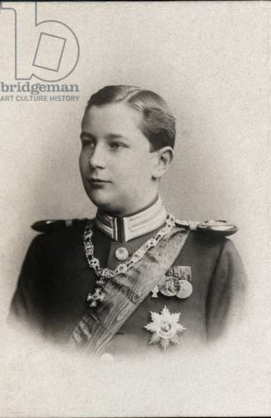Portrait of Prince Eitel Friedrich of Prussia (1883-1942).