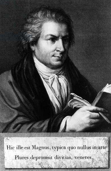 Portrait of Giambattista Bodoni (1740 1813) Italian typographer