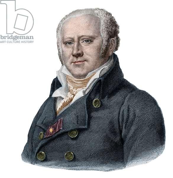Portrait of Jean Nicolas Corvisart (1755-1821), french physician.