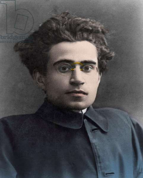 PORTRAIT OF ANTONIO GRAMSCI (1891-1937) Italian politician and Marxist theorist