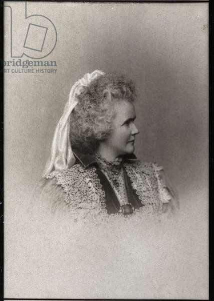 Portrait of Elisabeth of Wied (1843-1916), Queen consort of Romania.