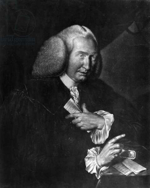 Portrait of William CULLEN (1710 - 1790) English physician and chemist