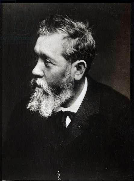 Portrait of Antoine Vollon (1833-1900), French painter.