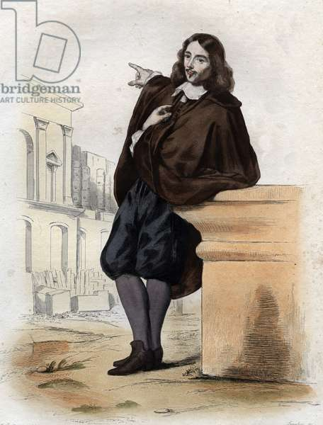 Portrait of Claude Perrault (1613-1688), French architect, physician and anatomist.