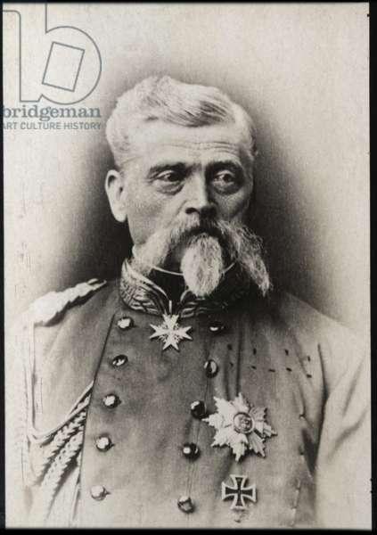 Portrait of Baron Ludwig Samson Arthur Freiherr von und zu der Tann Rathsamhausen (1815-1881)