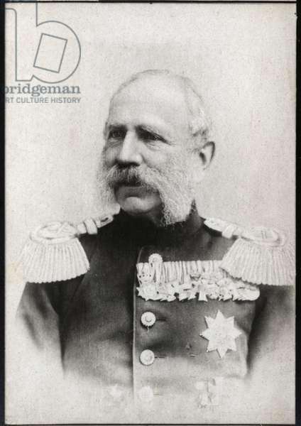 Portrait of Albert of Saxony (Albert Frederic) (1828-1902), King of Saxony