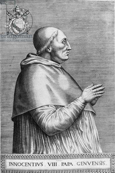 Pope Innocent VIII (1484-1492)