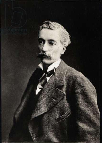 Portrait of Edouard Lockroy (1838-1913), French politician.